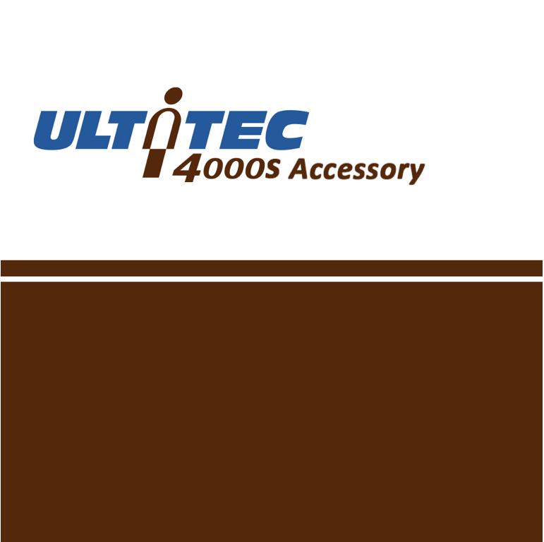 ULTITEC 4000S 配件(車縫款)