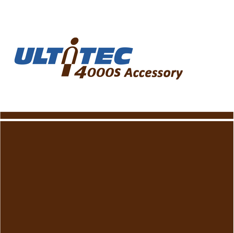 ULTITEC 4000S Accessories (Stitched)