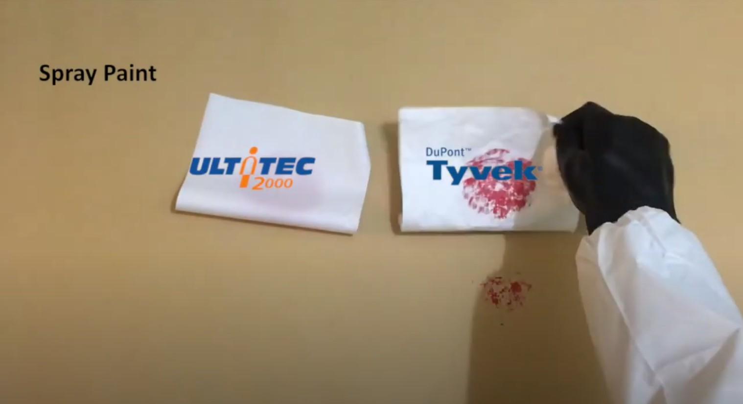 ULTITEC 2000 Fabric Test