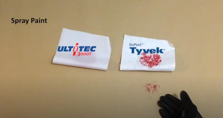 ULTITEC 3000T Fabric Test